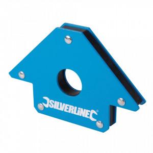 Magnet pentru sudura Silverline 125mm 45 °  90 °  135 ° , Silverline Welding Magnet