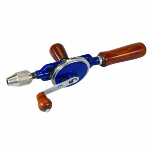 Masina de gaurit manuala , 290mm , Silverline Double Pinion Hand Drill
