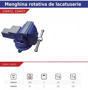 Menghina lacatus rotativa , 360° ,15Kg , Dedra