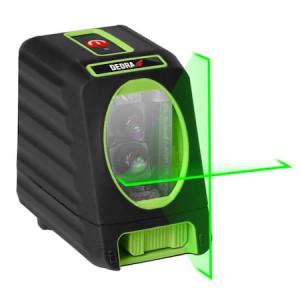 Nivela laser cruce verde cu linii, proiectare 30 m Dedra MC0903