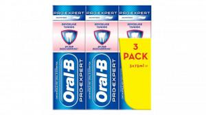 Pachet promo pasta de dinti Oral B, PRO-Expert, 3 x 75ml, dinti sensibili