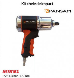 Pistol de impact pneumatic Pansam , 570nm , 1/2 , 6.3bar