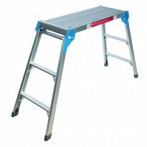 Platforma aluminiu rabatabila , 150 Kg , Silverline Step-Up Platform