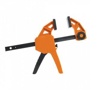 Presa cu eliberare rapida pentru lemn, metal, profesionala , reglabila, 150 mm, Triton Profesional