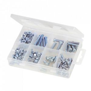Set 105 suruburi zincate, piulite , M5- M6 , Fixman