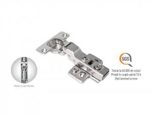 Set 2 balamale aplicate, 3D, amortizor incorporat, deschidere la jumate, F.F. Group