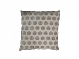 Set 2 perne decorative premium, 40 x 40 cm, buline gri, George Home