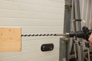 Set 4 burghie lemn, 600mm, 8, 12, 16, 24mm, Silverline