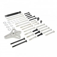 Set 46 piese extractor fulii, discuri canelate auto, 40-93mm, Silverline