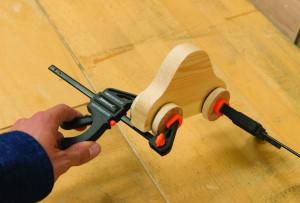 Set mini clema / presa rapida , 2 buc 150mm , Silverline Mini Clamps 2pk