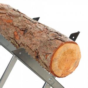 Suport taiat lemne, 150 kg, 790 x 850 mm, Silverline