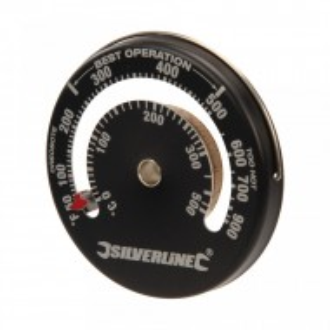 Termometru gratar, cuptor, magnetic, 0-500 grade, 64x10mm, Silverline