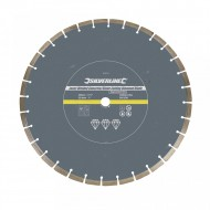 Disc circular segmente beton, piatra, 450 x 25.4mm, Silverline