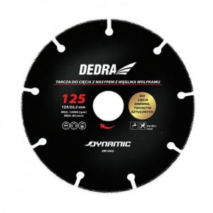 Disc circular lemn, carburi metalice 125X22.2, Dedra