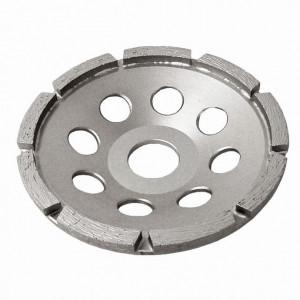 Disc diamantat segmentat, pentru slefuire beton, D=125 mm Dedra
