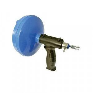 Dispozitiv desfundat canalizare, actionare manuala, cablu 6m, grosime 6mm , Silverline