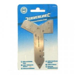 Dispozitiv mini masurat unghiuri, 85 mm, 55º, 60º, 90º ,120º, otel inoxidabil, Silverline