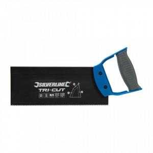 Fierastrau manual tehnologie TRI-CUT, 250mm, 12tpi, Silverline