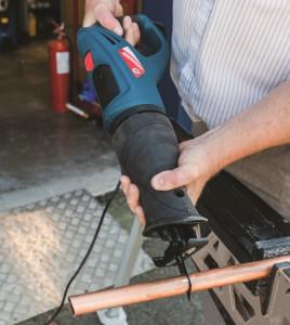 Fierastrau vertical tip sabie Silverline 800W 0-2600 RPM , Silverstorm 800W Reciprocating Saw 115mm