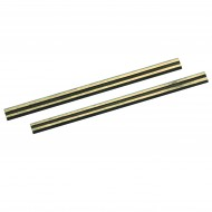 Lame pentru masina de rindeluit , set 2 buc , 82 x 5.5 x 1.1mm , Silverline Tungsten Carbide Planer Blades 2pk