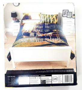 Lenjerie pentru pat de 2 persoane KING , George Home New York