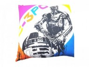 Perna Star Wars Disney, 2 fete, R2D2 - C3PO, 40x40cm