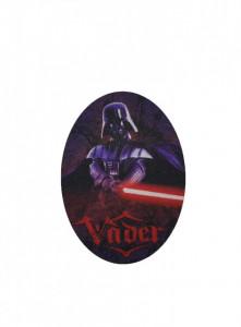 Petic textil, patch brodat , 110 x 80mm, Dark Vader , Star Wars, Wenco