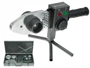 Plita lipit PPR , trusa metal , 800 W , 6 bac-uri 16-50mm , Pansam
