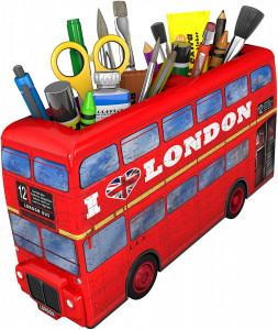 Puzzle Ravensburger 3D - London Bus, 216 piese
