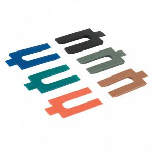 Set 100 cale distantiere universale, plastic , mix, 1,2,3,4,5,6 mm, Fixman