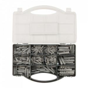 Set 330 dibluri beton, zidarie, 4, 5, 6, 7, 8, 10, 12mm, Fixman