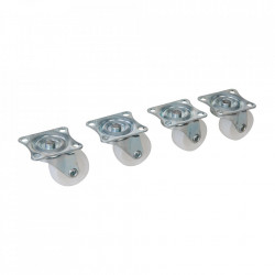 Set 4 mini roti 31mm, rotative, Silverline