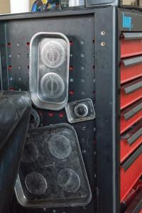 Tava magnetica colector suruburi, 270 x 292 mm, Silverline