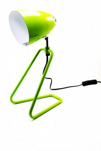 Veioza birou , metal , verde, dulie E14, putere maxima 1 x 30 W