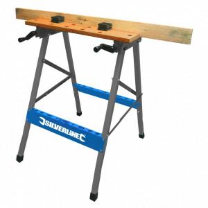 Banc , masa de lucru , Silverline Portable Workbench