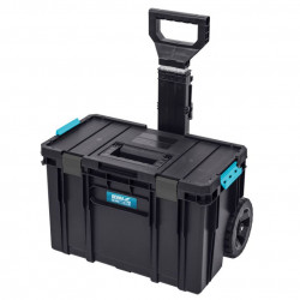 Cutie unelte electrice SAS+ALL, roti cauciuc, sistem SAS, 526x380x670mm, maner aluminiu,Dedra