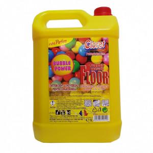 Detergent pardoseli, fara clatire, Bubble Gum, 5L, Cloret