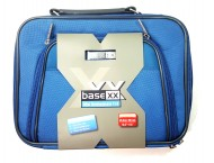 Geanta protectie laptop , 282 x 225 x 45 mm , Albastru