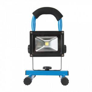 Lampa portabila de lucru cu acumulator intern, 220v, 12V auto, 5W LED COB, 360lmn, Silverline