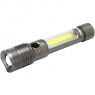 Lanterna LED COB , 2 in 1 , 5w + 3W, aluminiu, profesionala , Eveready