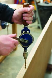 Masina de gaurit manuala , 290mm , Silverline Double Pinion Hand Drill