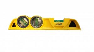 Nivela boloboc profesionala rezistenta la soc, talpa magnetica, 3 bule, 245mm, RAM