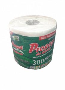 Prosoape de hartie profesionale absorbante, rezistente, 300 foi, 61m, 2 straturi, 100% celuloza, Royal