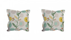 Set 2 perne decorative premium, 43 x 43 cm, floral, husa detasabila, George Home