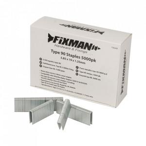 Set 5000 capse galvanizate, 5.80 x 19 x 1.25mm, Fixman