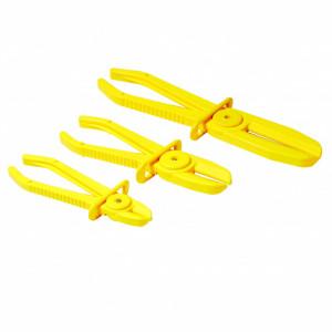Set de cleme / clesti, flexibile pentru furtune 3 piese , Silverline Flexible Hose Clamp Set 3pce