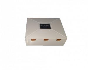 Splitter antena tv, 3 cai, UHF/VHF/FM, 75ohm, filtru, 80 x 70 x30mm, Skytronic