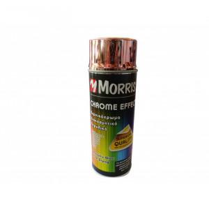 Spray vopsea profesional, crom auriu, 400ml, Morris