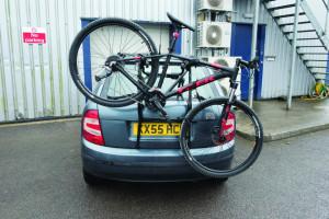 Suport universal auto pentru biciclete, 3 biciclete, 45Kg, Silverline Bike Rack