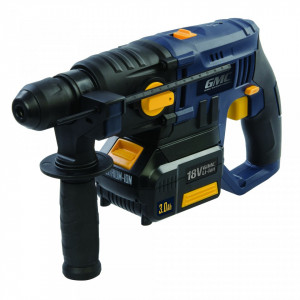 Masina de gaurit cu percutie , acumulator 3A 18V Li , SDS Plus , GMC 18V SDS Plus Hammer Drill